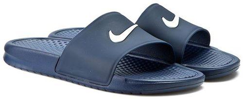Nike Klapki męskie Benassi Shower Slide  niebieskie r. 41 (819024 410)