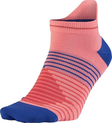 Nike Skarpety Running Dri-Fit Lightweight niebiesko-czerwone r. 34-38 (SX5195 676)