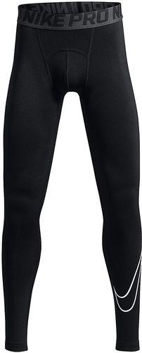Nike Spodnie juniorskie B NP Tight Comp HBR czarne r. XL (176 cm) (726464)