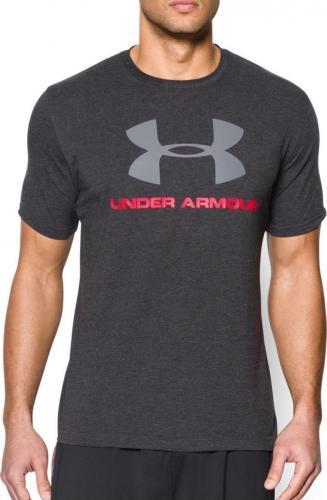 Under Armour Koszulka męska Sportstyle Logo Black r. L (1257615001)