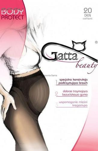 GATTA Rajstopy Body Protect golden 20 DEN S