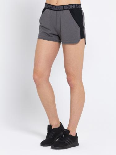 Under Armour Spodenki damskie NEW Play Up Short-CBH/BLK/BLK szare r. XS (91292231-091)
