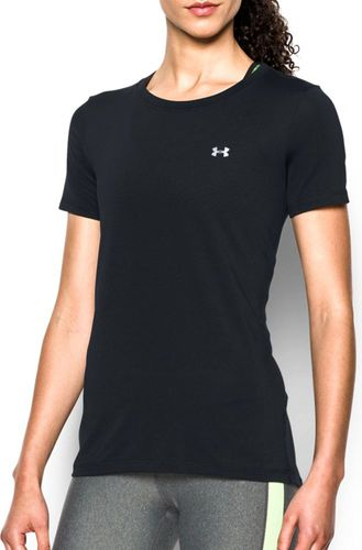 Under Armour Koszulka damska Armour Short Sleeve Under Armour Black roz. M (1285637001)