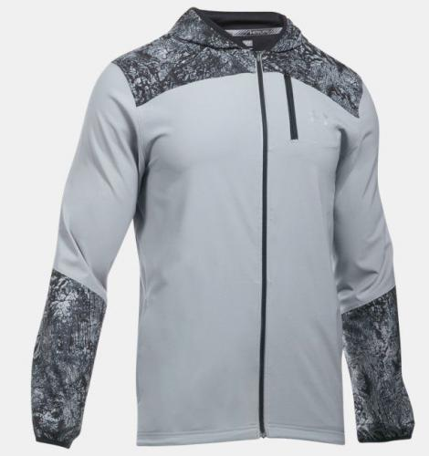 Under Armour Kurtka męska UA Storm Printed Jacket szara r. XL (1289752-035)