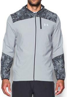 Under Armour Kurtka męska UA Storm Printed Jacket szara r. M (1289752-035)