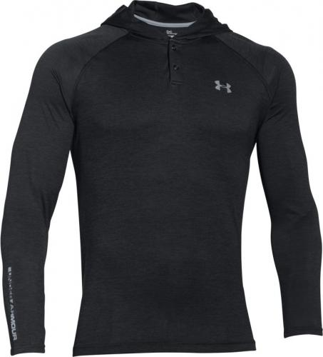 Under Armour Bluza męska Tech™ Popover Hoodie czarna r. S (1274511-003)