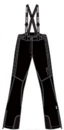 Brugi Spodnie narciarskie damskie 2AJL-E61 Nero r. XL
