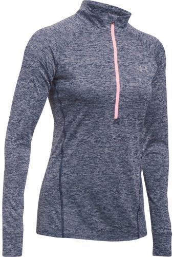 Under Armour Bluza damska Tech 1/2 Zip  - Twist szara r. XS (1270525-410)