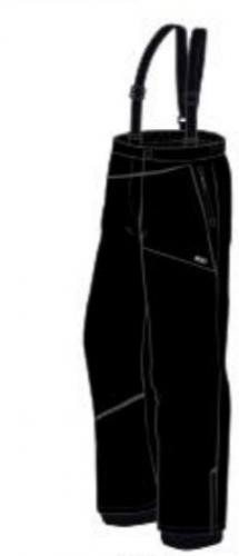 Brugi Spodnie  narciarskie męskie 4AMY-500 Nero r. L