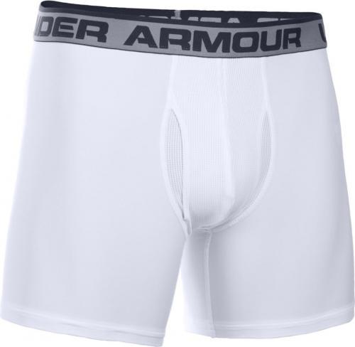 bliżej na renomowana strona najbardziej popularny Under Armour Bokserki The Original 6'' BoxerJock kolor biały r. M  (1277238-101) ID produktu: 1586201