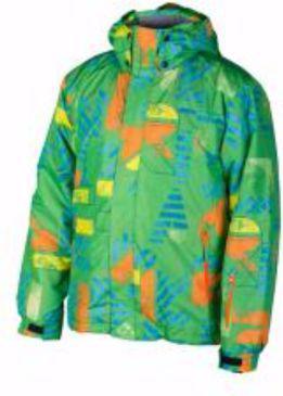 Brugi Kurtka narciarska męska 4AL7-733 Verde r. L