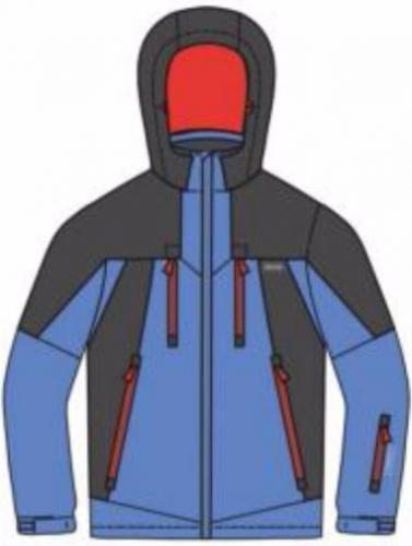 Brugi Kurtka narciarska męska 4AMU-P3B Bluette Grigio r. L