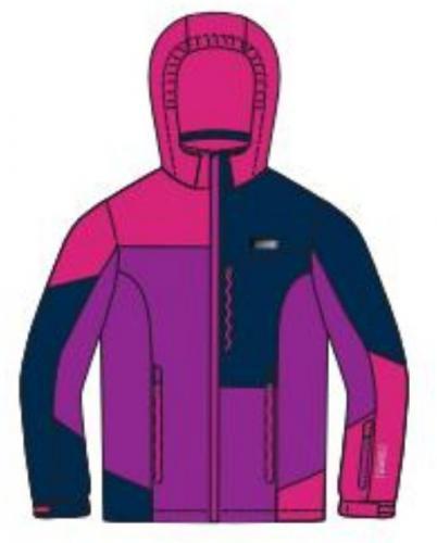 Brugi Kurtka narciarska dziecięca 3AGL 828-Rosa Ciclamino r. 98-104