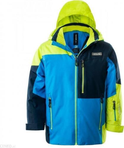 Brugi Kurtka narciarska dziecięca 3AGL 884-Turchese r. 122-128
