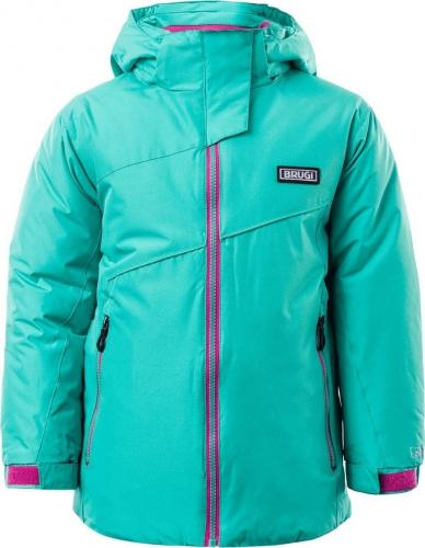 Brugi Kurtka narciarska dziecięca 3AGS 674-Verde Acqua r. 116-122