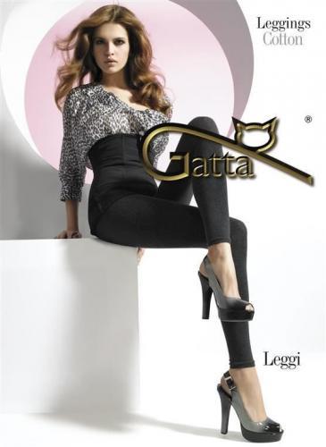 GATTA LEGGI - Legginsy damskie W.00 BORDO r. 4-L