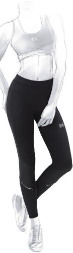 GATTA Spodnie Runner Leggins Women Black r. S (0044668S3606)