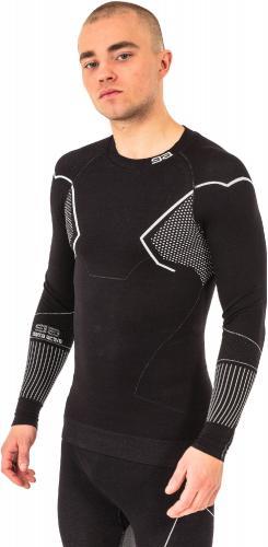 GATTA Koszulka męska Thermo Men Basic Masi 3S Black-white r. XL (0042423S46918)