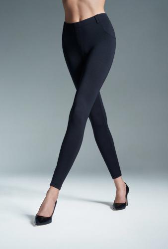 GATTA Spodnie damskie Skinny Hot Black r. L