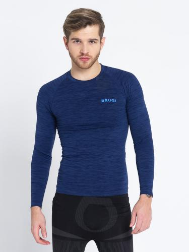 Brugi Koszulka męska 4RB3-R6J Bluette Blu r. M