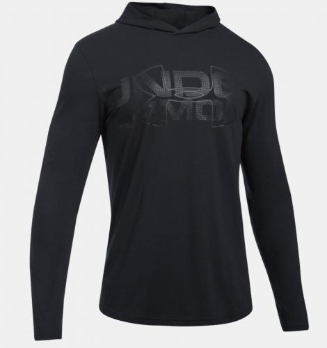 Under Armour Bluza męska Sportstyle Stretch Hoodie grafitowa r. S (1303702-005)