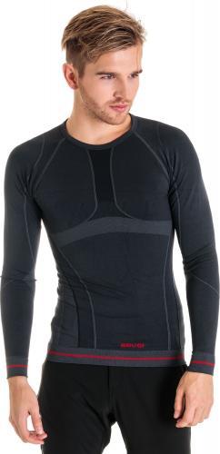 Brugi Koszulka męska 4RAT X15 czarno-grafitowa r. M