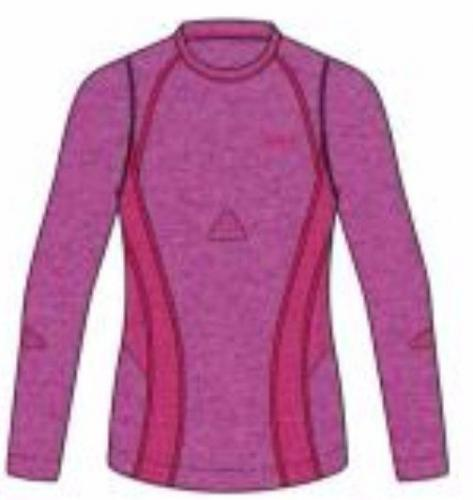 Brugi Koszulka damska Seamless różowa r. M (2RAV)