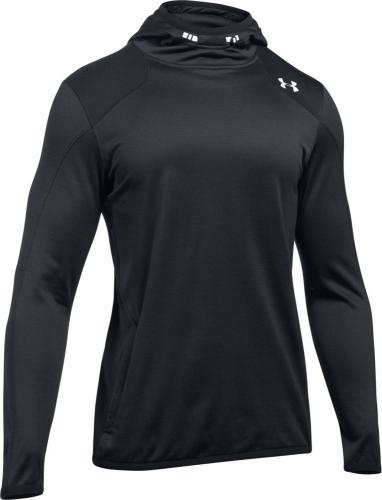 Under Armour Bluza męska ColdGear® Reactor Fleece Hoodie czarna r. S (1299168-001)