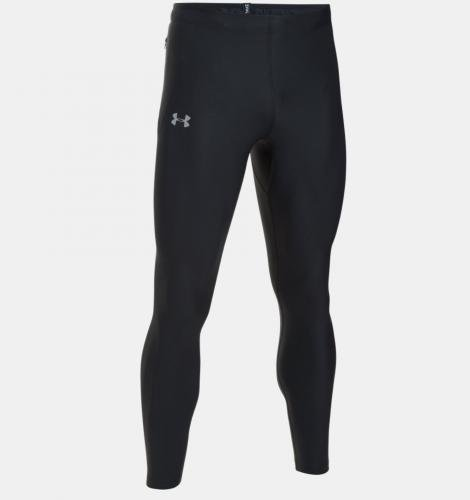 Under Armour Legginsy męskie RUN TRUE HEATGEAR TIGHT czarne r. M (1301016-001)
