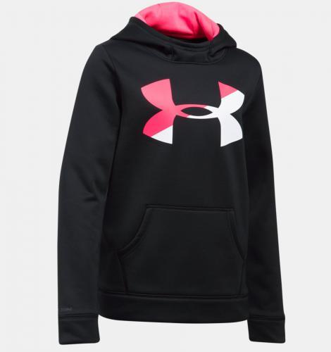 21639b3be282 Under Armour Bluza dziecięca Armour® Fleece Big Logo Hoodie czarna r. L  (1298860
