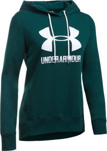 Under Armour Bluza damska Favorite Fleece PO zielona r.S (1302360-919)