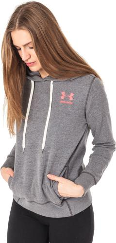 Under Armour Bluza damska Fav Fleece PO Left Chest szara r.XS (1302045-090)