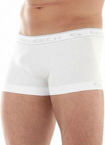 Brubeck Bokserki męskie ShortBox BX10050 Brubeck biały roz. S (BX10050)
