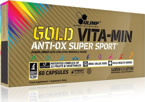 OLIMP SPORT NUTRITION Gold Vita-Min Anti-OX Super Sport 60 Mega Caps Olimp  roz. uniw