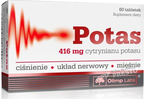OLIMP SPORT NUTRITION Potas 60 Olimp  roz. uniw (034008)