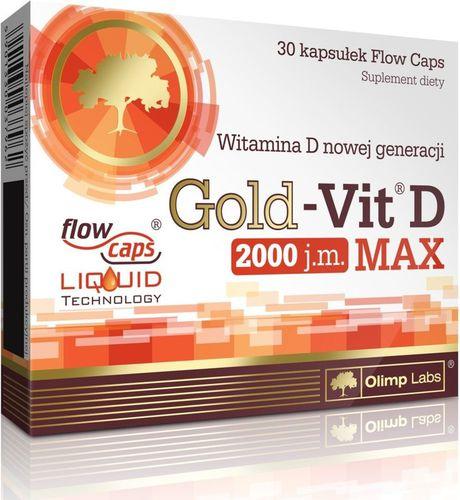 OLIMP SPORT NUTRITION Gold-Vit D Max 2000 30 Olimp  roz. uniw
