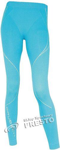 Brubeck Spodnie termoaktywne damskie Vela Thermo LE00760 Brubeck niebieski roz. XL (LE00760)