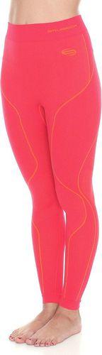 Brubeck Spodnie termoaktywne damskie Thermo LE10420 Brubeck malinowy roz. XL (LE10420)