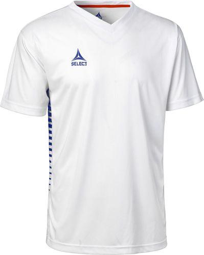 Select Koszulka męska Mexico biało-niebieski r. M