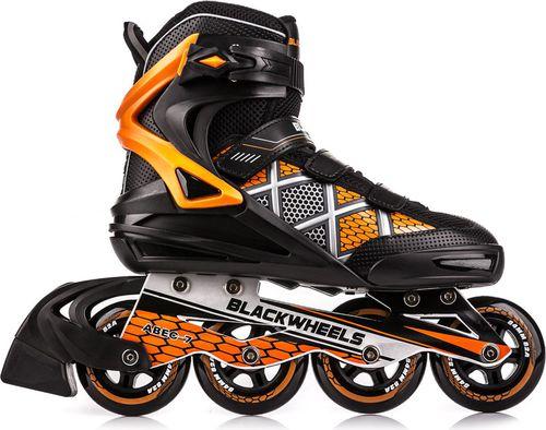 Blackwheels Rolki Speed czarno-pomarańczowe r. 45