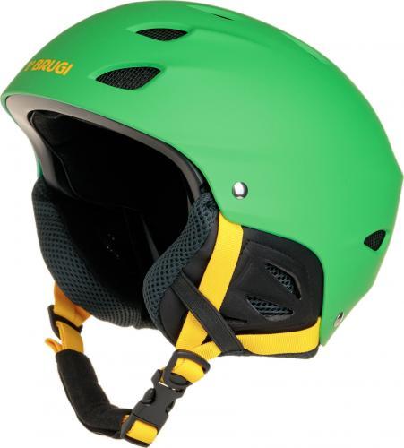 Brugi Młodzieżowy kask narciarski zielony r. XS (1ZCM 733-VERDE)