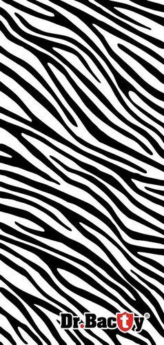 DRBACTY Ręcznik szybkoschnący Polygiene Dr. Bacty Zebra r. L 60x130cm