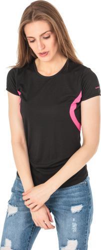 Hi-tec Koszulka Sportowa Damska Lady Doren Black/Beetroot Purple r. S
