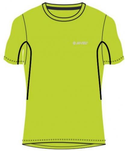 Hi-tec Koszulka dziecięca Redan JR Lime Punch/Evening Blue r. 164