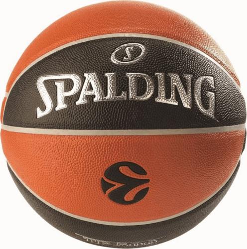 Spalding Piłka do koszykówki TF-500 Euroliga Spalding  roz. uniw (277286)