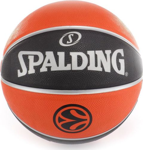 Spalding Piłka do koszykówki TF-150 Euroleague 7 Spalding  roz. uniw (73985Z)