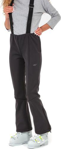 4f Spodnie damskie H4Z17-SPDN003 czarne r. L