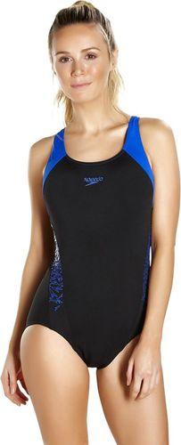 Speedo strój kąpielowy Boom Splice Muscleback niebiesko-czarny r. 34 (8-10822A023)