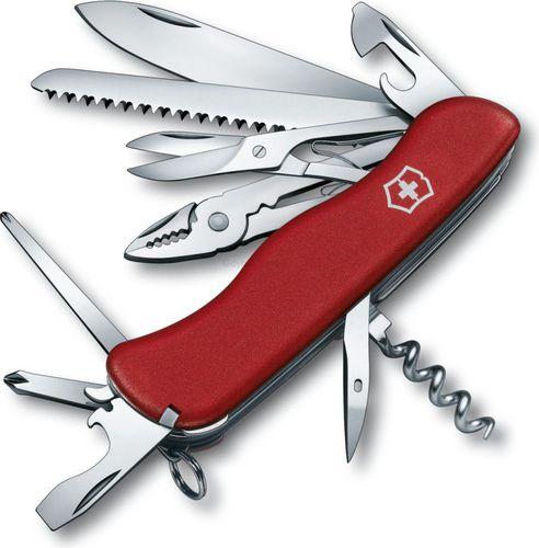 Victorinox Scyzoryk Hercules 0.9043 Victorinox czerwony roz. uniw (0.9043)