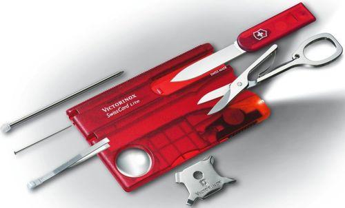 Victorinox Niezbędnik SwissCard Lite 0.7300.T Victorinox  roz. uniw (0.7300.T)
